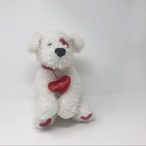 The Bearington Collection I'm Yours White Dog